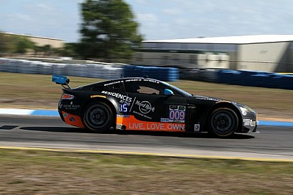 TRG-AMR collects first IMSA podium finish of 2014 at Laguna Seca
