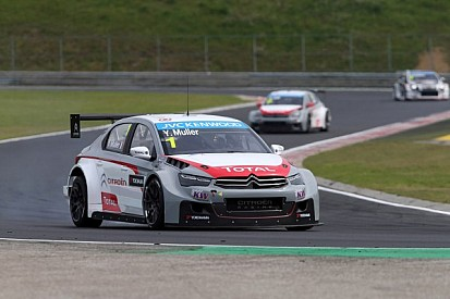 Citroën goes 1-2 in Race 1 at the Hungaroring - Muller wins