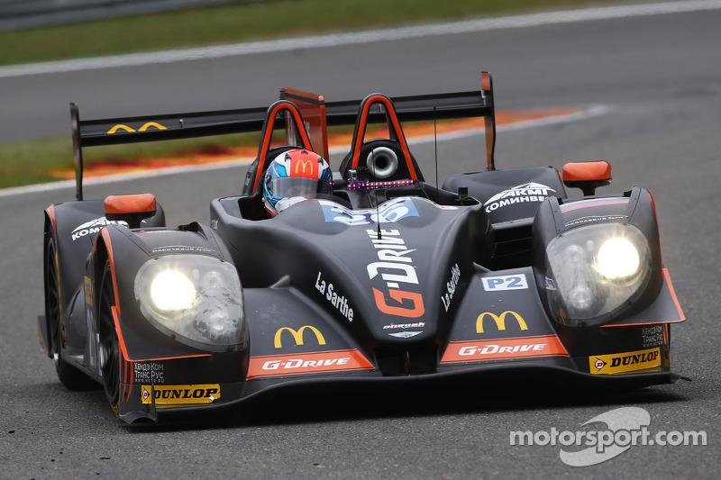 Victory at Spa for the G-Drive Racing Morgan-Nissan LMP2