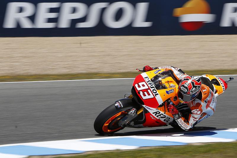 Marquez marks 100th Grand Prix with classy win in Jerez