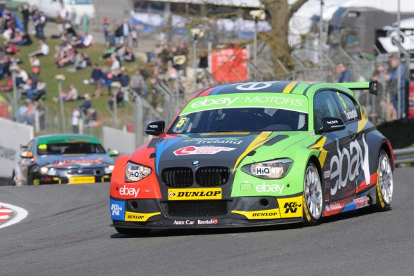 Colin Turkington wins a chaotic Race 3 at Thruxton