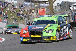BTCC Race report Colin Turkington wins a chaotic Race 3 at Thruxton
