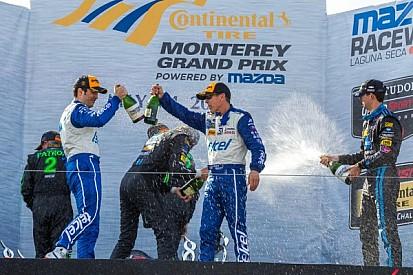 Corvette DPs at Laguna Seca: Chevrolet regains prototype engine manufacturer lead