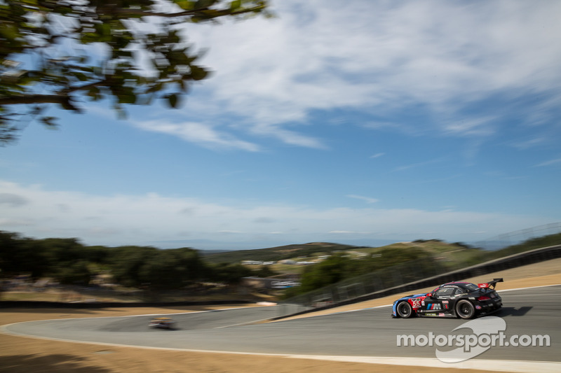 BMW Team RLL Finishes 2nd and 10th at Laguna Seca