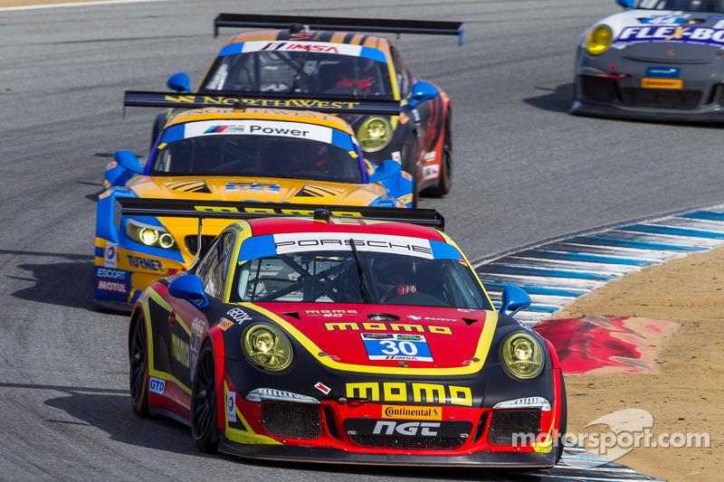 MOMO NGT Motorsport finishes 12th at IMSA Mazda Raceway Laguna Seca
