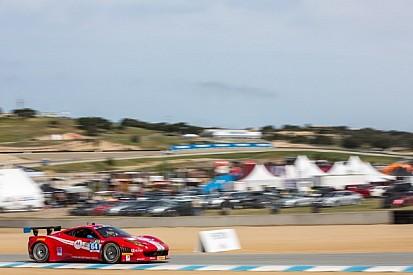 Strong showing for pair of Scuderia Corsa Ferrari's at Laguna Seca