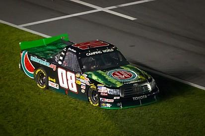 Todd Shafer thunders back into the NASCAR CWTS at Kansas