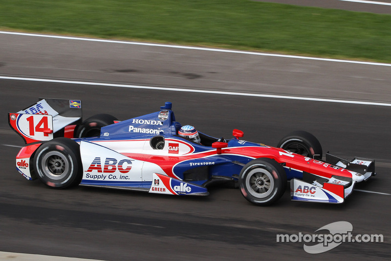 Foyt drivers Sato and Plowman hot at Indianapolis