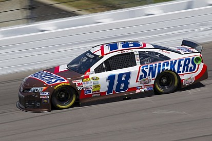 Kyle Busch hopes his truck win translates into Sprint Cup success at Kansas