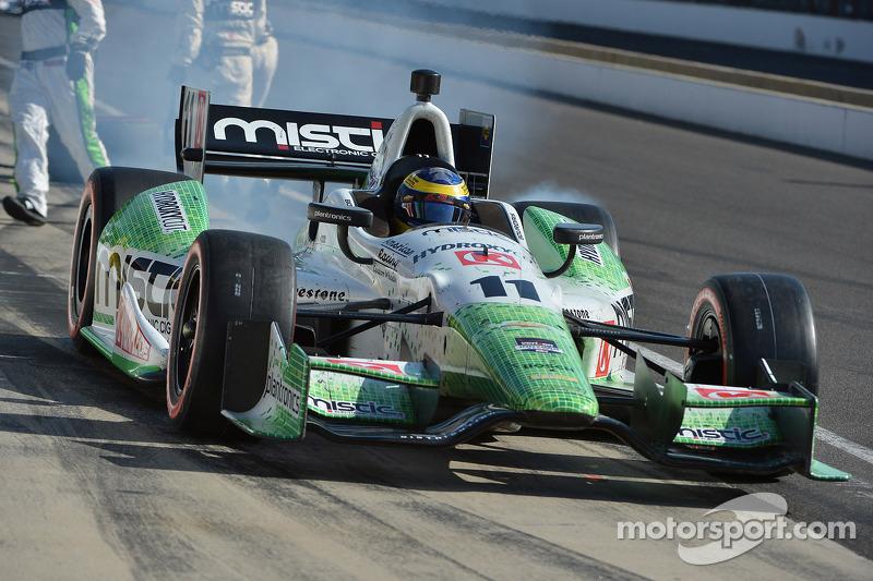 KVSH Racing driver Sebastien Bourdais finished fourth in inaugural GP of Indianapolis
