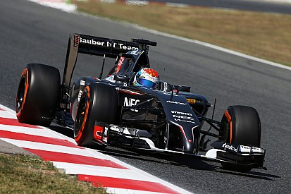 Sauber F1 Team: Barcelona test Day 1