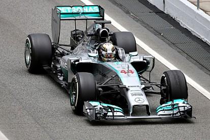 Barcelona test - Day 1 - Mercedes AMG Petronas