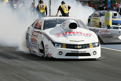 Anderson's heart in in this weekend's NHRA race