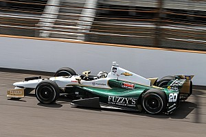 IndyCar Practice report Ed Carpenter hits 230 mph on Fast Friday at Indy