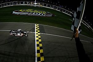 NASCAR Cup Race report 'Rowdy' cashes in on sixth Charlotte 200 win