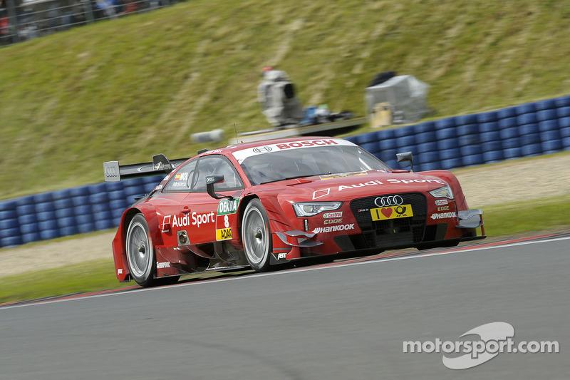 Magic' Molina: Record lap in an Audi