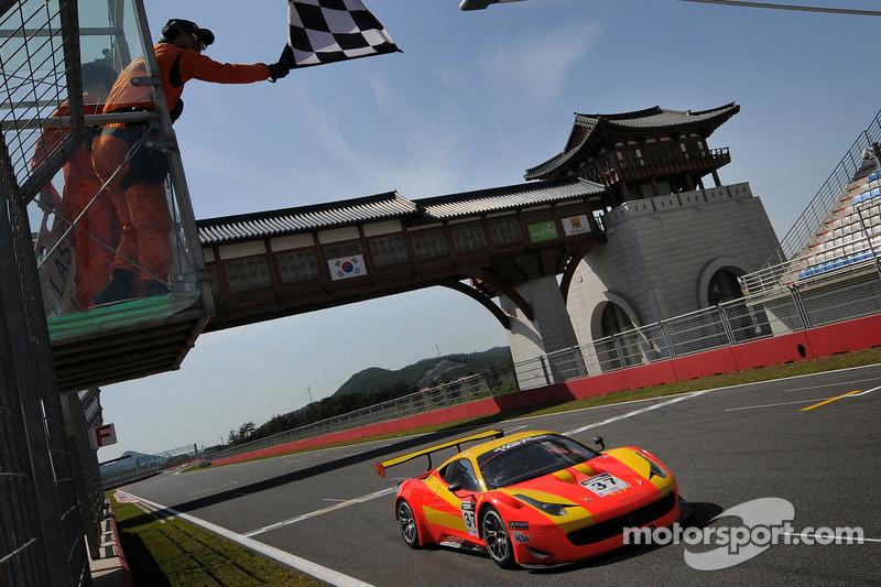 Surprise victors in opening round of GT Asia in Korea