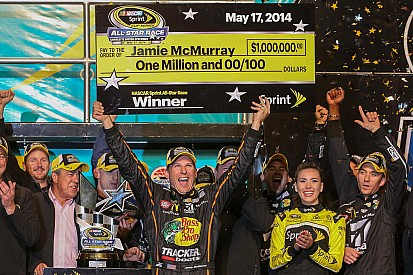 McMurray snatches victory from Edwards, Harvick in All-Star Race