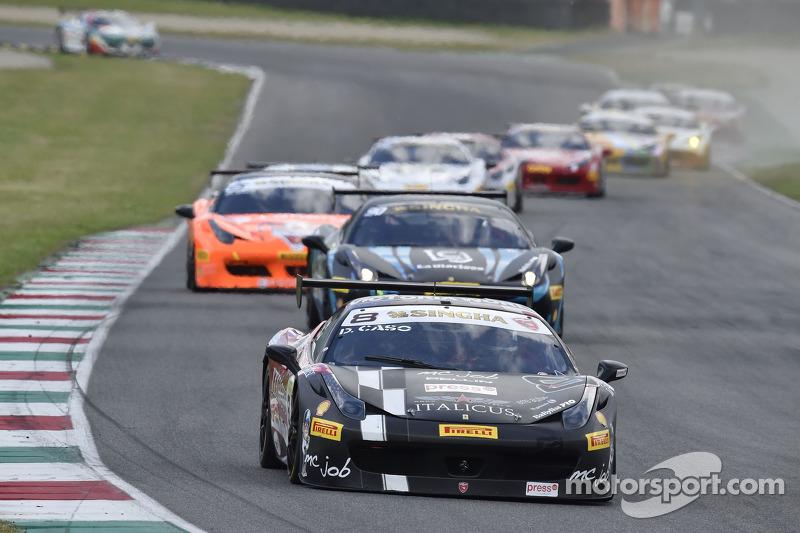 Europe Trofeo Pirelli: Caso wins Race 2 from pole position