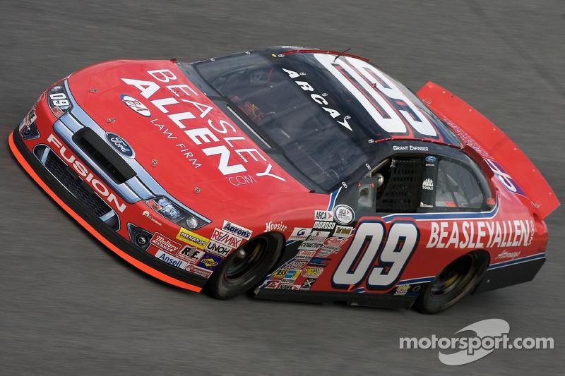Justin Boston takes ARCA race in Toledo, Enfinger second