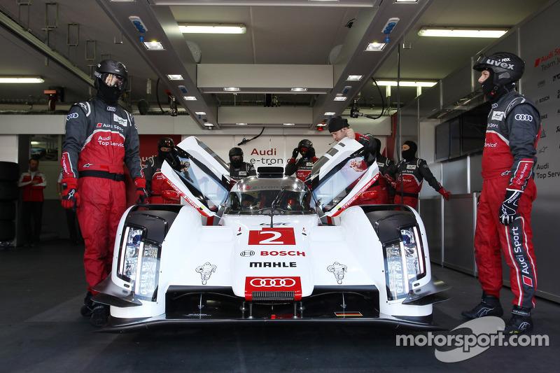 Audi prepares 'men and material' for Le Mans