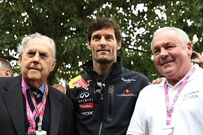 Mark Webber talks about Sir Jack Brabham