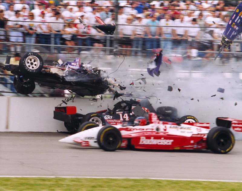 Top 10: Indy 500 Wrecks