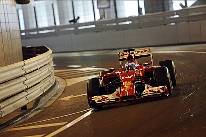 Fernando Alonso tops rain-marred FP2 at Monaco