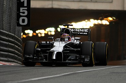 Top 10 times for McLaren drivers on Thursday's practice for the Monaco GP