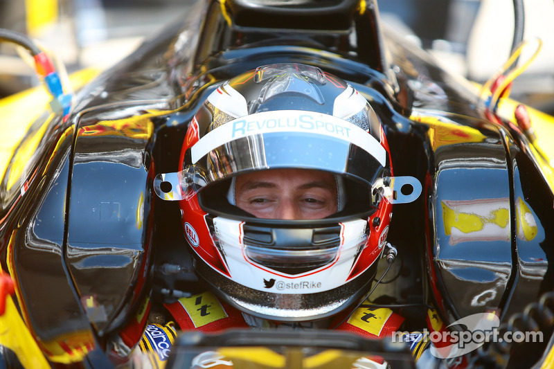 Palmer on pole position at Monaco