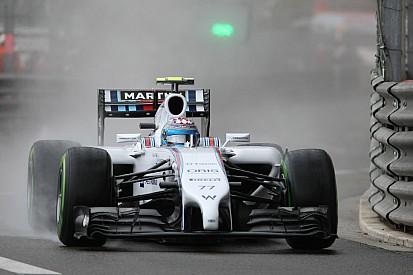 Williams' Bottas has a positive day in Monte Carlo