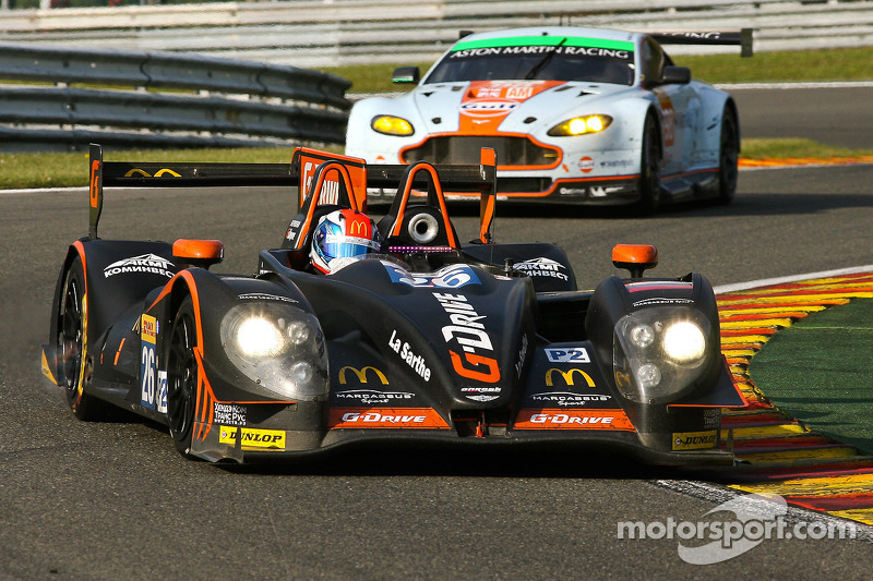 G-Drive Racing doubles its chances at Le Mans