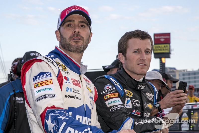 In their own words: Chevrolet drivers talk Charlotte qualifying