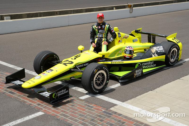 Ivy Tech Community College sponsors Indianapolis 500 rookie Sage Karam