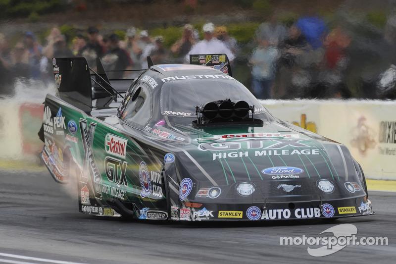 Force sets new track record at Topeka