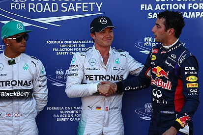 Stewards probe what may have been a 'deliberate' mistake by Rosberg