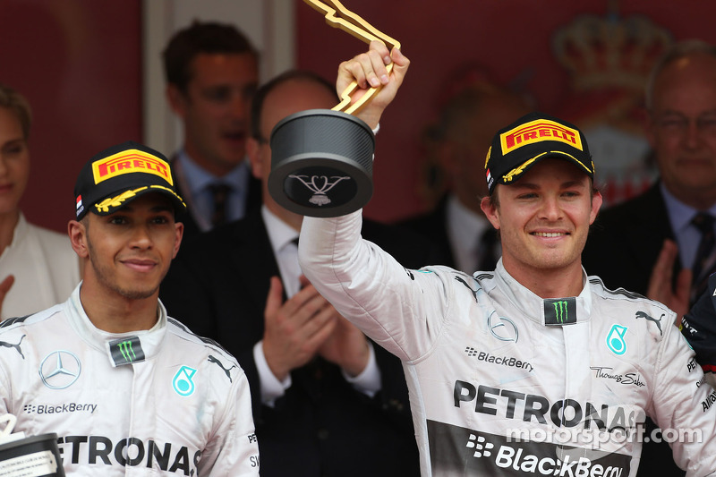 Rosberg and Hamilton took a dramatic one-two finish at Monaco