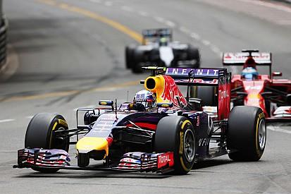 Red Bull getting closer with Ricciardo in third on the Monaco GP