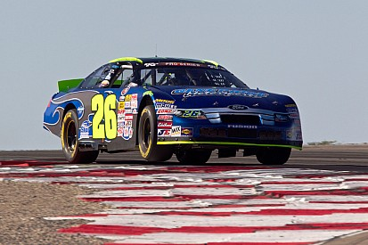 Pursley escapes with victory for 19th career NASCAR K&N Pro Series West win