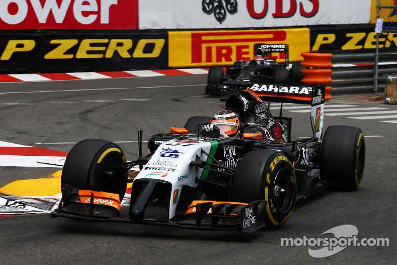 Sahara Force India scored ten points on Monaco GP