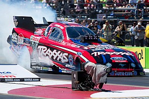 NHRA Interview Courtney Force talks about her record-breaking win