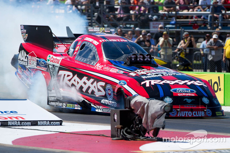 Courtney Force talks about her record-breaking win