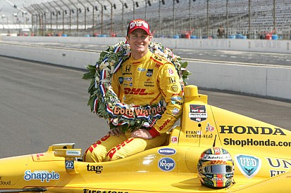 Hunter-Reay continues to ride on the victory cloud