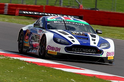 Endurance rookie Lloyd stars on Aston Martin bow at Silverstone