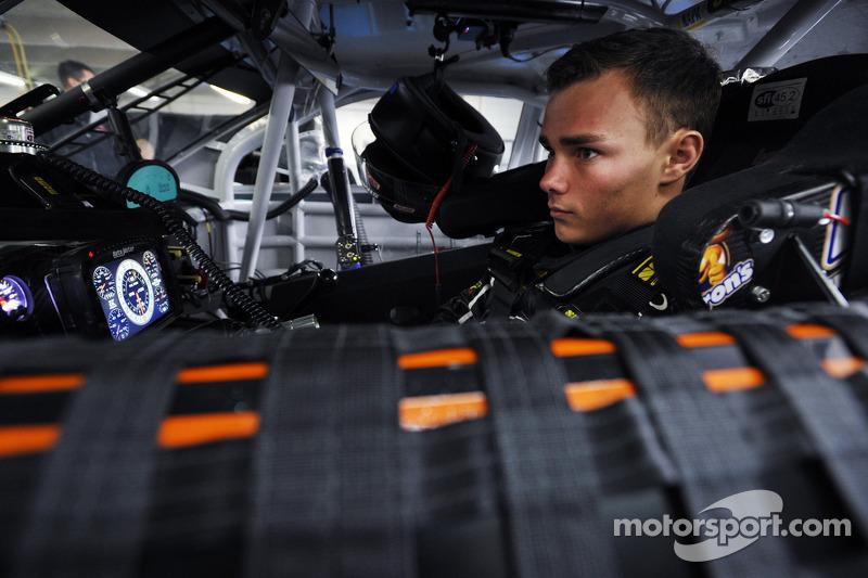 Brett Moffitt prepared to make his Sprint Cup debut at Dover
