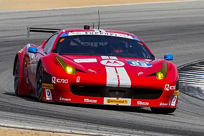 Two Scuderia Corsa Ferrari's aiming for another Detroit podium