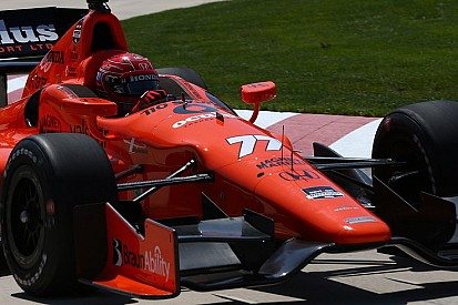 Pagenaud fastest in Detroit IndyCar practice