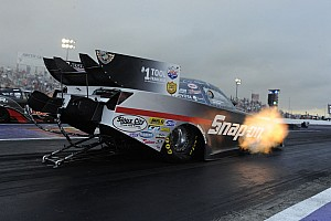 NHRA Qualifying report Cruz Pedregon makes the fastest Funny Car run in history