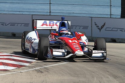 Sato and Hinchcliffe to share front row for Race Two at Belle Isle