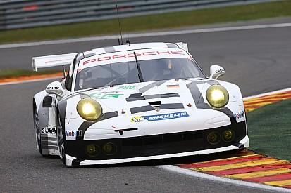 Porsche teams conduct successful Le Mans test